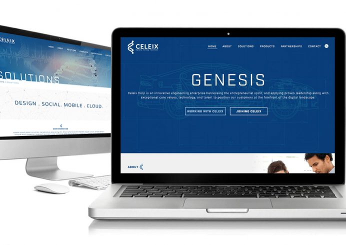 Celeix Engineering & Technology Custom Website Design