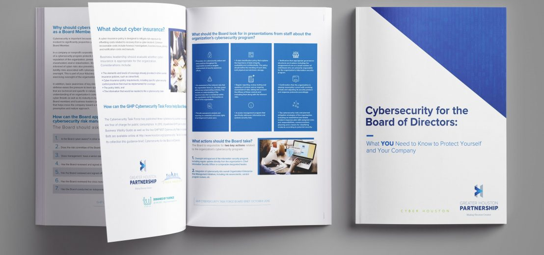 Cybersecurity Catalog Design for Greater Houston Partnership