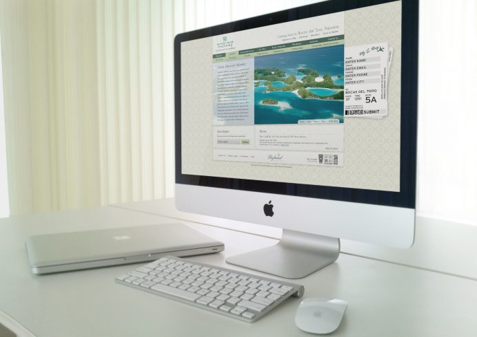 Emerald Eco-Luxe Resort Custom Website Design