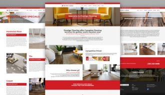 Prestige Flooring Website Design