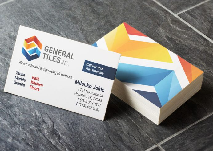 Custom Business Card Design Amp Printing Houston Tx Tuispace