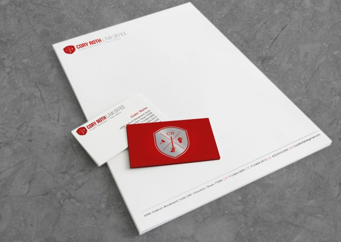 Cory Roth Law Office Complete Brand Identity