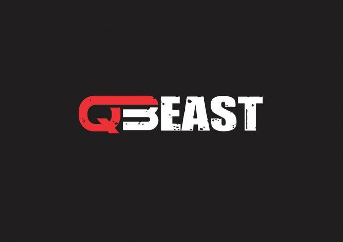 QBEAST Training Logo and Shirt Design