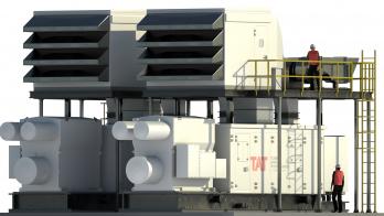 3D rendering of generator