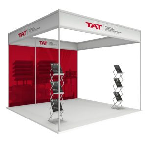 trade show, booth, expo, graphic design