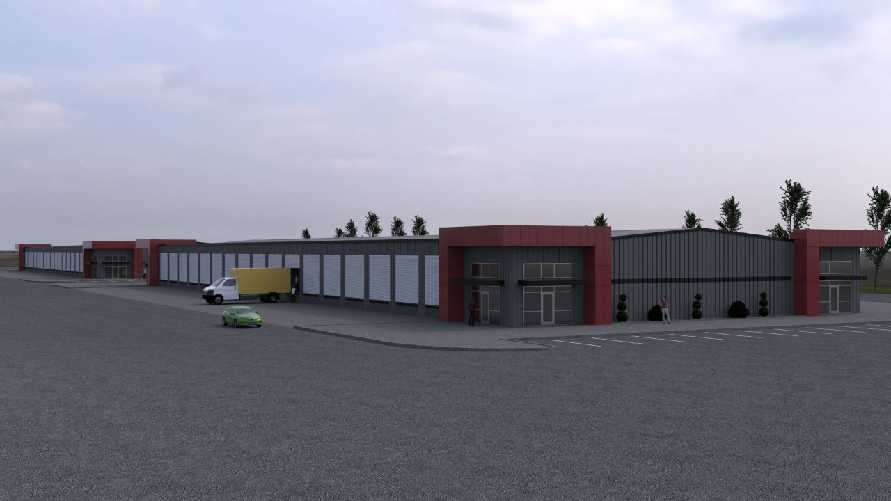 Realistic Architectural 3D Renderings of an Warehouse