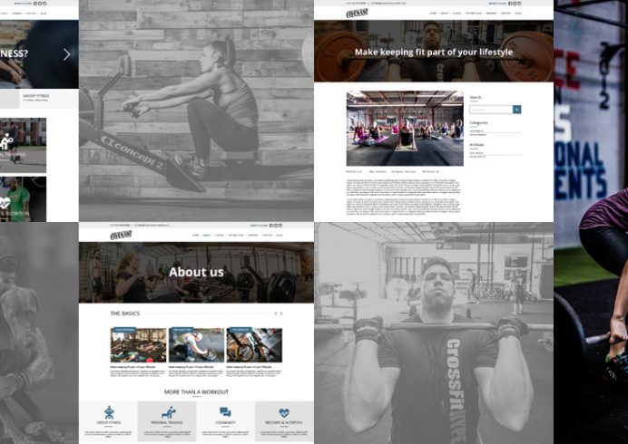 Covenant Gym Website